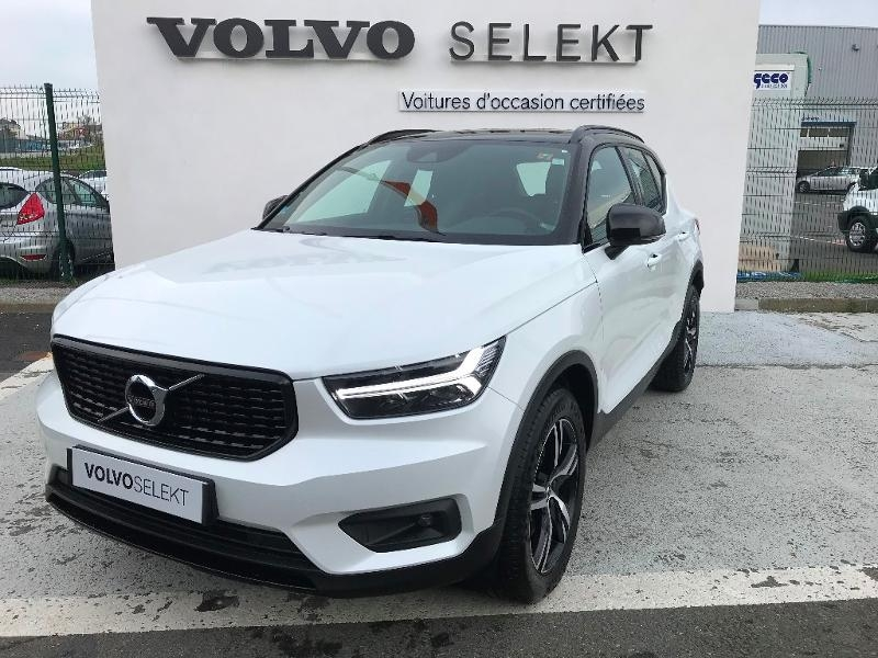 volvo xc40 d4 adblue awd 190ch r design geartronic 8 d occasion saint brieuc c te ouest. Black Bedroom Furniture Sets. Home Design Ideas