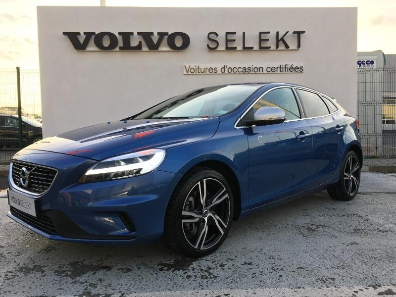 volvo v40 d3 150ch r design d occasion saint brieuc c te ouest automobiles. Black Bedroom Furniture Sets. Home Design Ideas