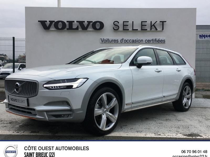 Volvo V90 Cross Country D4 AdBlue AWD 190ch Ocean Race Geartronic Diesel Blanc Occasion à vendre
