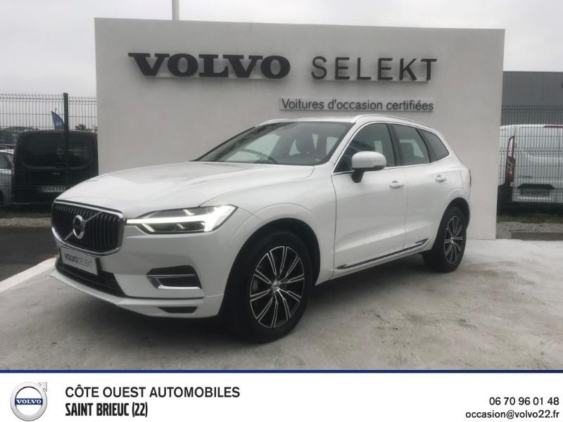 Volvo XC60 D4 AdBlue AWD 190ch Inscription Geartronic Diesel BLANC Occasion à vendre