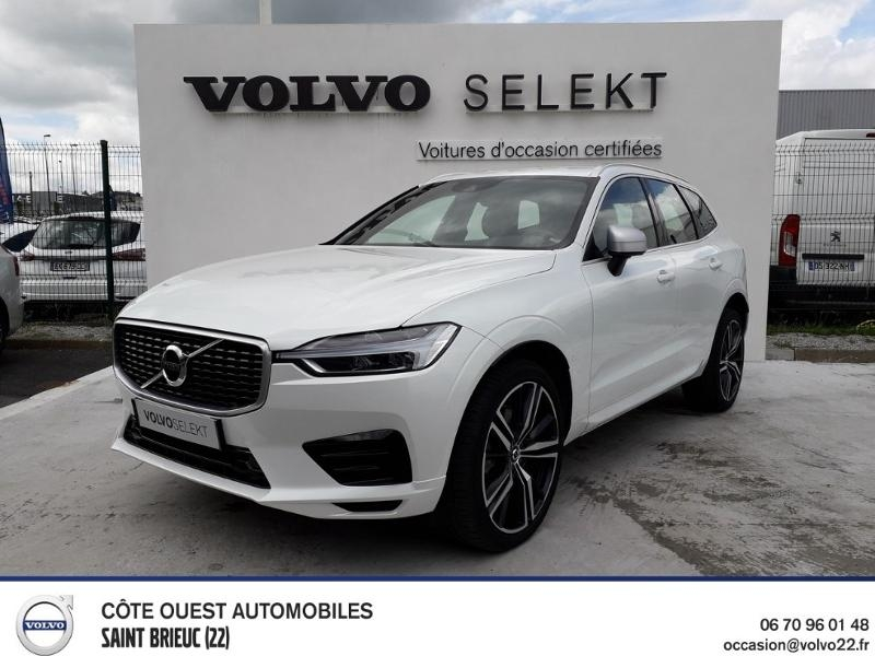 Volvo XC60 D4 AdBlue AWD 190ch R-Design Geartronic Diesel BLANC CRISTAL Occasion à vendre