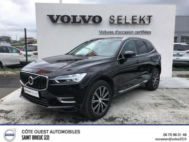 Volvo XC60 T8 Twin Engine 303 + 87ch Inscription Luxe Geartronic Hybride Noir Onyx Occasion à vendre