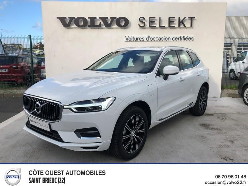 Volvo XC60 T8 Twin Engine 303 + 87ch Inscription Luxe Geartronic Hybride Blanc Occasion à vendre
