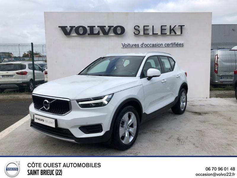 Volvo XC40 D3 AdBlue 150ch Business Geartronic 8 Diesel Blanc Glace Occasion à vendre